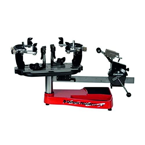 Gamma Progression ST II Machine: 360 Degree Rotation Tabletop Racquet Stringer Machines with...