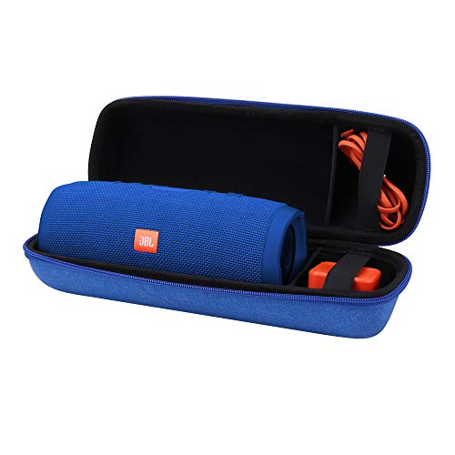 Aenllosi Hard Carrying Case for JBL Charge 3 Bluetooth Speaker (Blue)
