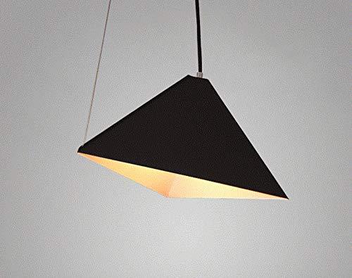 Verlichting plafondlamp plafondlamp driehoek Nordico Obliquo modern en minimalistisch van ijzer met ophangsysteem