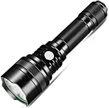 Portable Lightweight Ultra Brightness Flashlight,Torch USB Charging LED Waterproof Outdoor Camping Hiking Trekking Night R...