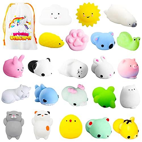 Mochi Squishy Toys, 22PCS Mini Squishy Animals Toys Squishies Pack,...