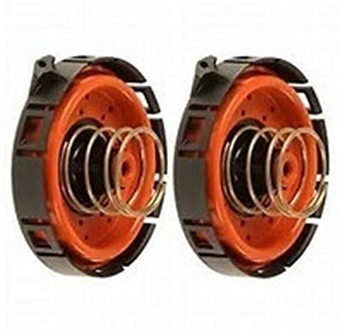 Yxwei Ajuste para BMW E53 E60 E63 E65 545I 550i 650i 745li 11127547058 11127537733 2 PCS Ventilación de PVC Regulación de la presión del cárter (Color : 2pcs)