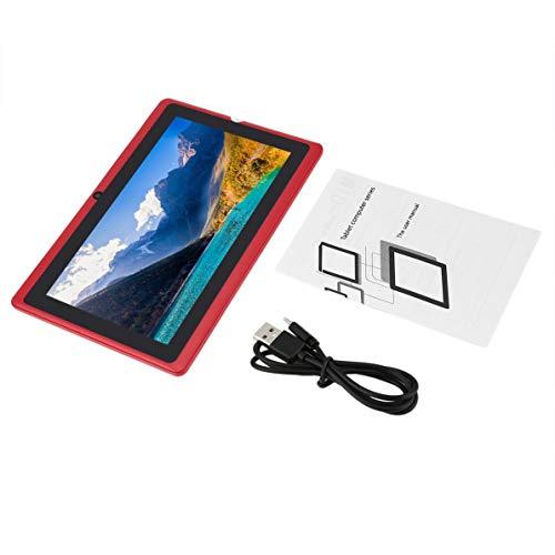Dswe Tableta WiFi Fuente de alimentación USB de Cuatro núcleos y Siete Pulgadas 512 MB + 4 GB Tableta práctica Duradera