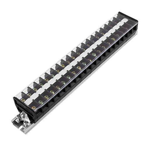 Aexit 660V 20A zweireihige 20-Positionen-Schraubklemmen-Reihenklemme TD2020 (09196de9cd32d3a8669e9c139e03b861)