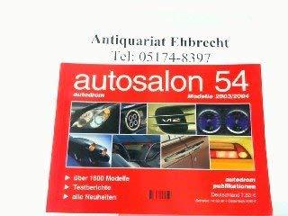 autosalon - autodrom: Modelle 2003/2004