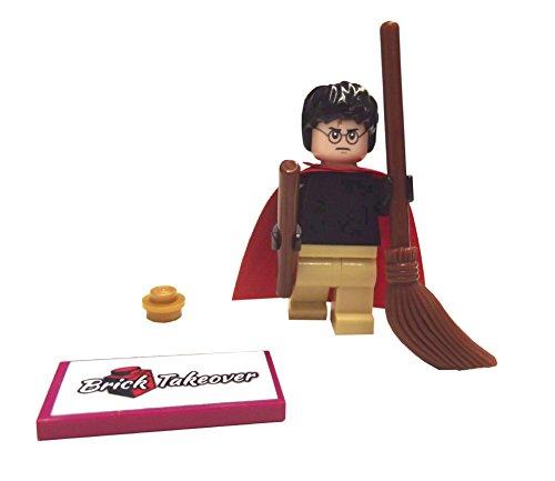 LEGO Harry Potter Quidditch - Set di scopa, mantello, bacchetta magica
