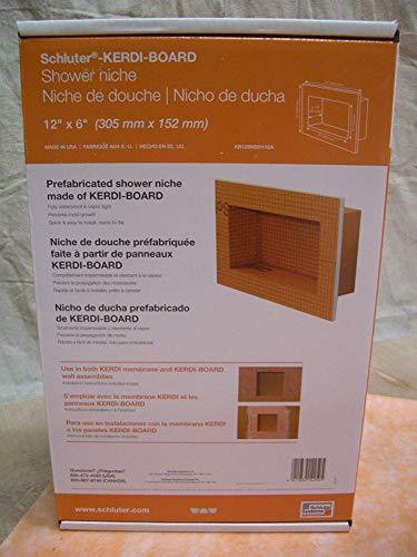 Buy Cheap Schluter KERDI-BOARD-SN: Shower Niche 12x6
