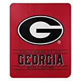 Northwest NCAA Georgia Bulldogs 50x60 Fleece Control DesignBlanket, Team Colors, One Size