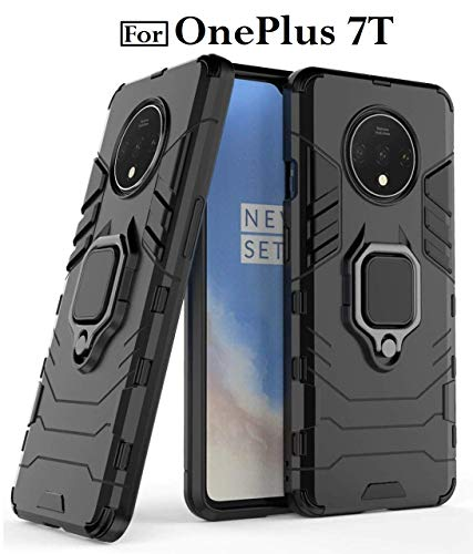 Zynk Case Covers and Cases for OnePlus 7T Case Back Cover Dual Layer Armour Defender Full Body Protective + PC...