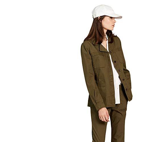 Aigle - Parka mit Mehreren Taschen - Casteltini - Damen - 42 - Khakigrün