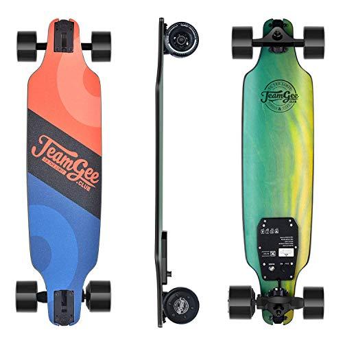 Teamgee H8 Skateboard Eléctrico - Longboard para Adultos con Control