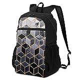 Daydream Cubes Sac à dos d'école, sac à dos pour ordinateur portable, sac à dos décontracté, sac de voyage, sac à dos de randonnée, école