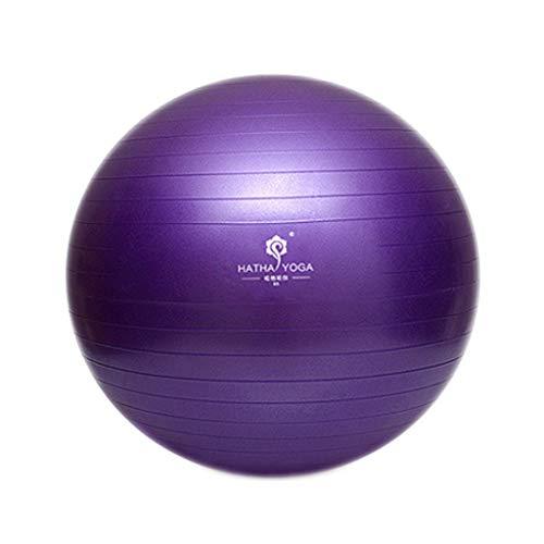 TONG Pelota de Yoga Engrosada a Prueba de explosiones Fitness Yoga Principiantes Deportes for niños Embarazada de Parto partera Bola Forma (Color : E, Size : 75CM)
