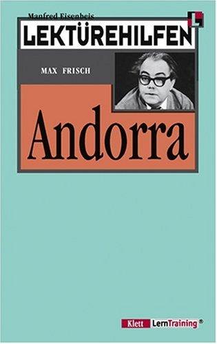Lektürehilfen Max Frisch 'Andorra'