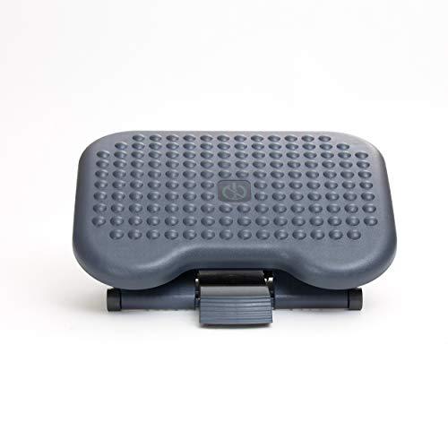 Mind Reader LEGUP-BLK Rest, Ergonomic Foot, Pressure Relief for Comfort, Back, and Body, Black