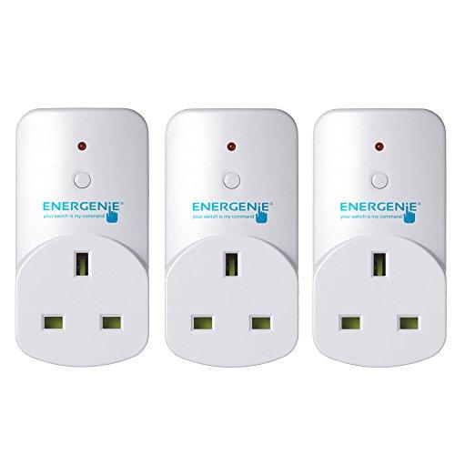 EnerGenie MIHO002 enchufe inteligente Blanco - Enchufes inteligentes (Inalámbrico, Interior, Blanco, Caja)