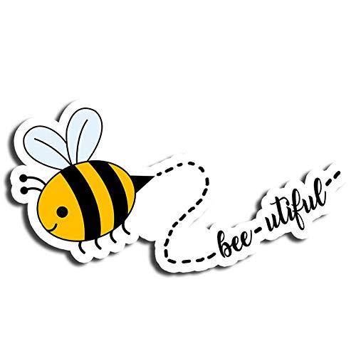 Amazon Com Beautiful Bees Sticker Positive Stickers Waterbottle Sticker Tumblr Stickers Laptop Stickers Vinyl Stickers Electronics