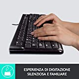 Zoom IMG-1 logitech k120 tastiera cablata per