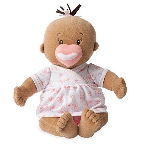 Manhattan Toy Baby Stella Beige weiches erstes Baby - Puppe für Alter ab 1 Jahr, 38.1cm