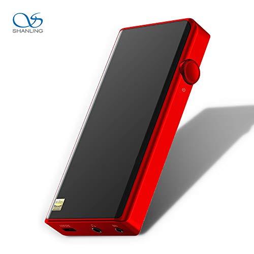SHANLING M5S Verlustfreier Musik-Player Tragbarer HiFi-Walkman DSD Harte Lösung MP3 Bluetooth DAC Flaggschiff Rot