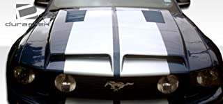 Brightt Duraflex ED-OWL-733 GT500 Hood - 1 Piece Body Kit - Compatible With Mustang 2005-2009