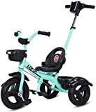Triciclo para niños con estructura de acero retro para bicicleta, para niños...