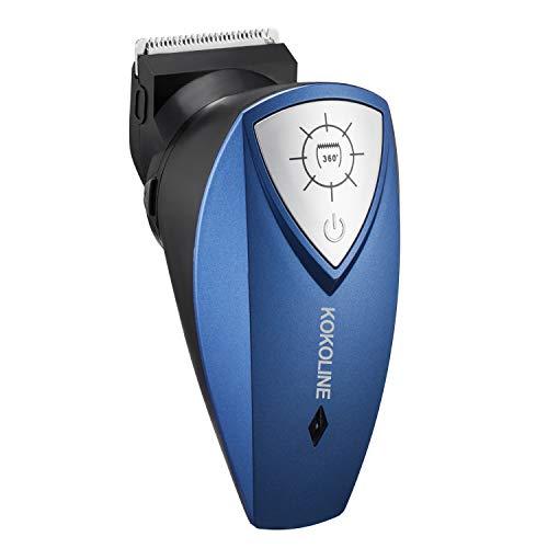 KOKOLINE Self Cut Hair Clipper for Men, Cordless Self Cutting Hair Clippers for Men Professional, Rechargeable Hair Cutting Kit