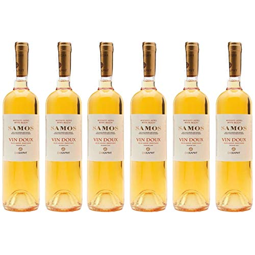 6x 0,75l Samos Vin Doux Likörwein süß UWC | 15% Vol.