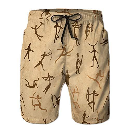 Shorts de baño Deportivos Shorts Casuales de Verano para Ho