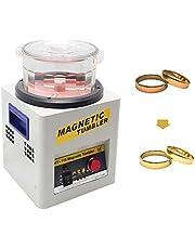 MXBAOHENG magnetyczny kubek biżuteria polerka 300 g polerowanie KT-185 polerka szlifowanie wykończenie magnetyczne polerki do metalowej biżuterii 220 V