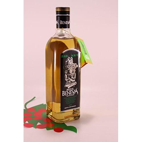Mezcal Beneva Tequila con Gusano 38 % 70 cl. - Beneva