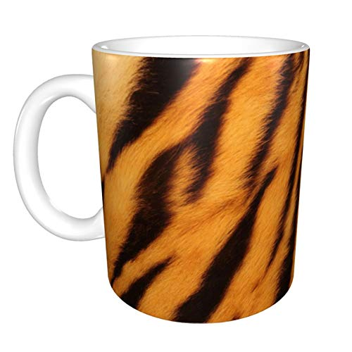 Ye Hua Tiger Have Stripes Mug,This is a Personalized mug, This is a Lady Coffee Cup, Cute mug 11 oz
