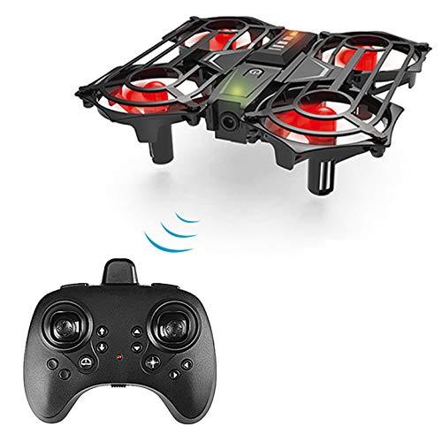 Achort Mini Drone Enfant Hélicoptère, Mini Quadcopter de Poche Mouvement Main contrôlée Drone Flying Jouets, Mode sans Tête, 360°Flips, Deux Boutons pour contrôler décoller et atterrisser