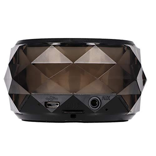Buletooth-luidspreker, binnen en buiten Draadloze mini draagbare Bluetooth-luidspreker 72 uur stand-by 7 kleurrijke LED-verlichting Ondersteuning voor TF-kaart