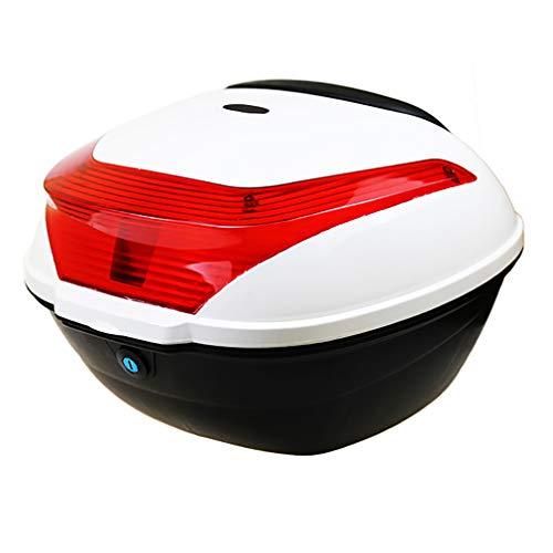 ZZXY Universal baúl de Moto- Scooter Maleta Motocicleta topcase para Cascos,PP - Tamaño: 43x37x28cm