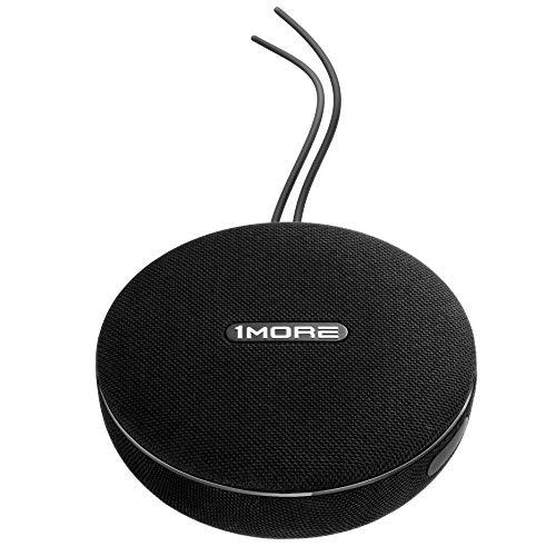 1MORE S1001BT Bluetooth® Lautsprecher AUX, Freisprechfunktion, Outdoor, Wasserfest Schwarz