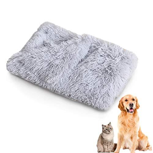 TaimeiMao Plüsch Flauschige Decken für Hunde (Hellgrau)