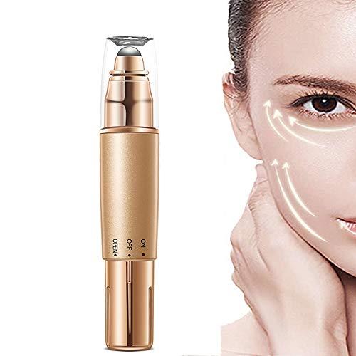 QueenYA Masaje De Jade Ultrasónico Masajeador Facial Anti-envejecimiento Arrugas Oculares Eliminación…