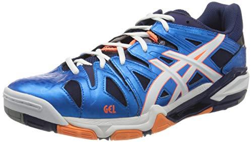 ASICS Gel Sensei 5, Chaussures de Volleyball Homme, Bleu (Navy B402y-4101), 46 EU
