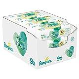 Pampers Baby Feuchttücher Coconut, Mit Kokosnussöl Zur Reinigung Und Feuchtigkeitspflege, 378 Tücher (9 x 42)