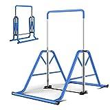 WEIZI Stands de Station de trempage d'entraînement de Force de Tour de Puissance équipement de Fitness Pull-up Dispositif d'étirement Domestique Simple et Double Tige Facile à Plier Hauteur ré