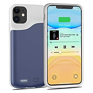 Battery Case For Iphone 11 Tayuzh 6000mah Portable Protective Charger Case Slim External Charging Case Rechargeable Extended Battery Pack Case For Iphone 11 61 Inch