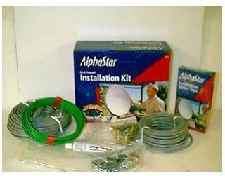 Satellite TV Installation Kit Dish Self Install Kit