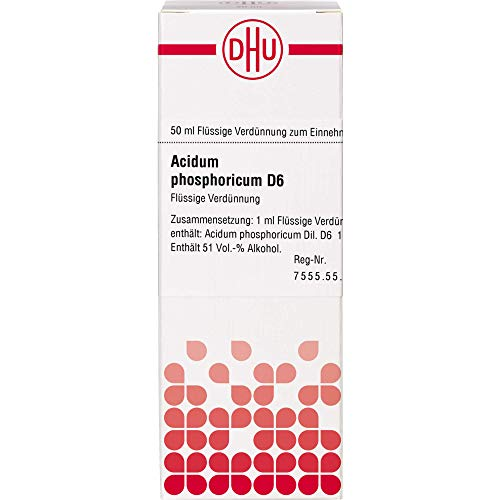 DHU Acidum phosphoricum D6 Dilution, 50 ml Lösung