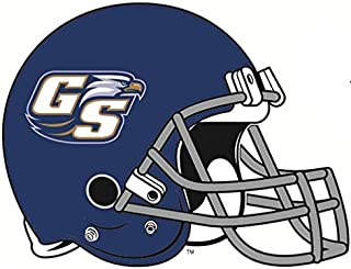 6 Inch GS Logo Football Helmet Decal Georgia Southern University Eagles Removable Wall Sticker Art NCAA Home Room Decor 6 by 5 Inches