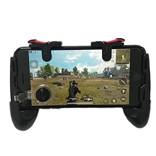 ShiningXX - Agarre universal para mando de juegos con joystick/botones de fuego para teléfono móvil de 5,0 a 6,0 pulgadas, Android iO- S Gamepad