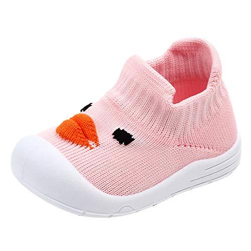 Erste Schritte Schuhe Kind 19, Babyschuhe Kinder Mädchen Jungen Cartoon Ente Mesh flexible Sohle Sport Turnschuhe Kinder 12-18 Monate Günstige Stiefeletten Turnschuhe für Kindertag