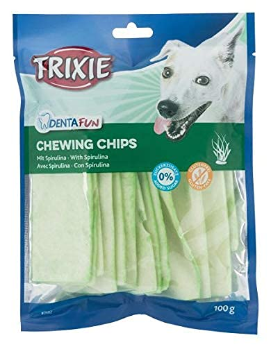 TRIXIE Spirulina Chewing Chips para Perros