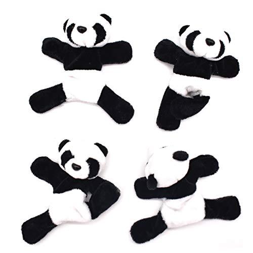 Liwein 4 Pezzi Magnete del Frigorifero Panda,Carino Morbido Peluche Panda Calamita da Frigo Creativa 3D Animale Adesivo Frigorifero Souvenir Regalo Ricordo Home Decorazioni