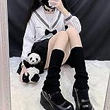 XUJING Femminile maglia inverno gamba riscaldatore sciolto stile signora stivali ginocchio tacco alto calze stivali caldi gambe